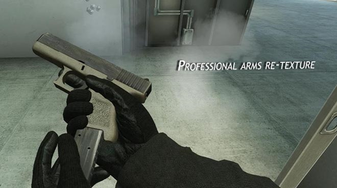 Скриншот Professional arms re-texture