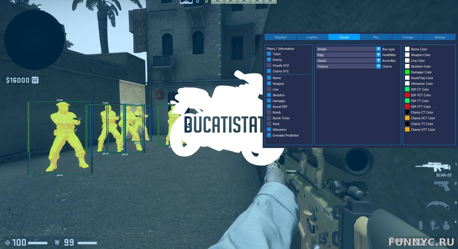 DucatiState [FREE] д...