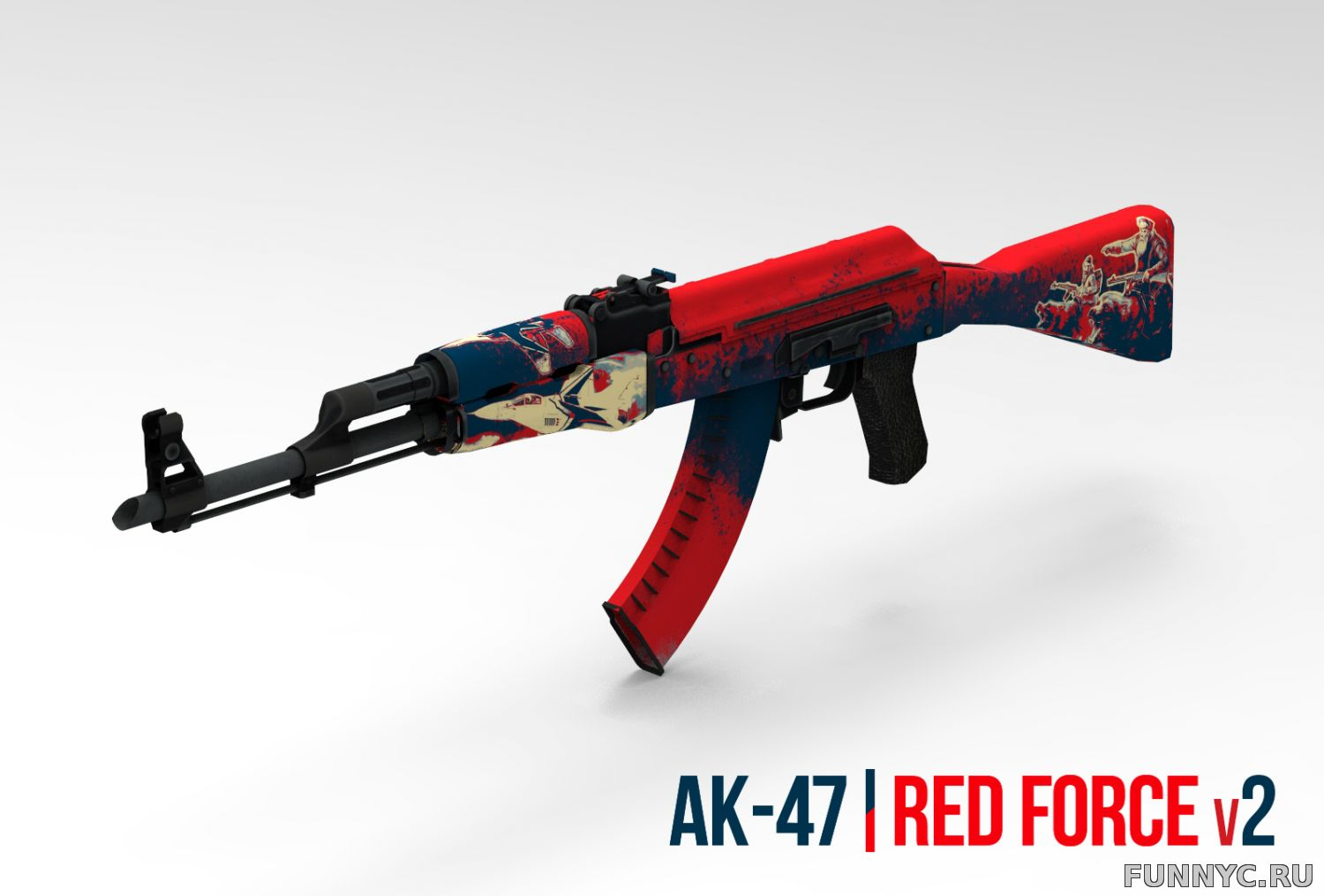 AK-47 RED FORCE V2